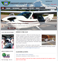 New Borden Flying Club Website